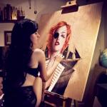 Charmaine_Olivia_Painting
