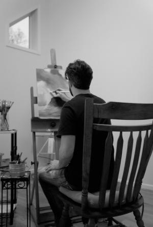 Dan May_Painting_Studio_The Soul Laundry