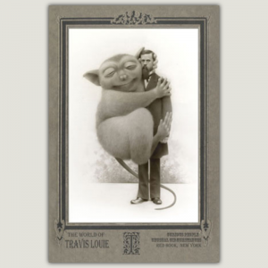 Oscar_Giant_Tarsier_Cabinet Card Series_Travis_Louie_The_Soul_Laundry