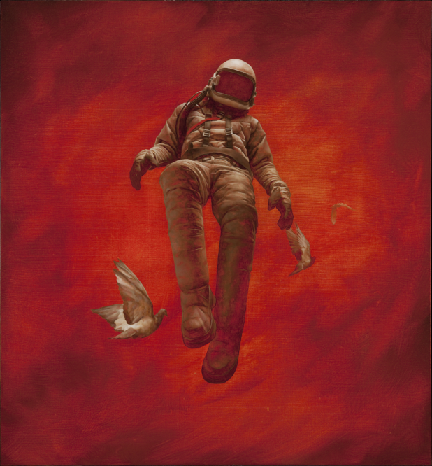 Red_Cosmonaut_lithograph