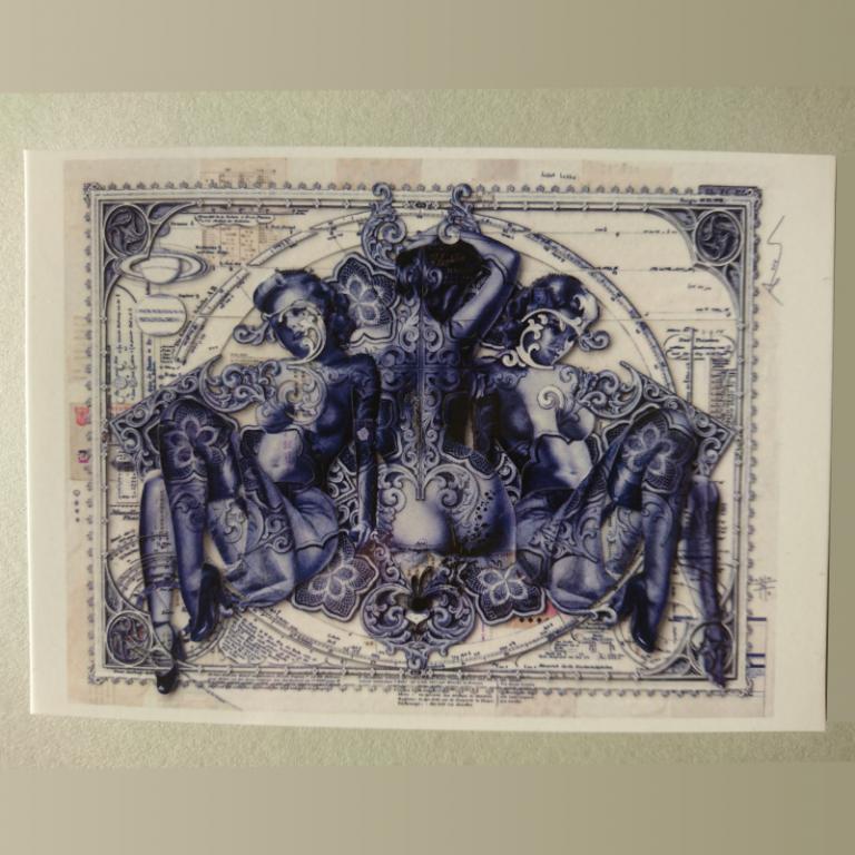 Centauri_Delfts_Blue_Postcard_Handiedan.