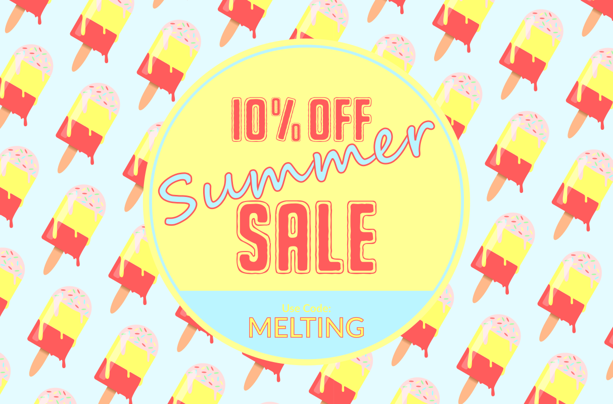 The Soul Laundry 10% Melting Summer Lollipop